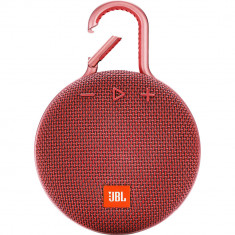 Boxa portabila JBL Waterproof Clip 3 Red