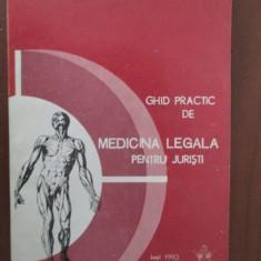 Ghid practic de medicina legala pentru juristi- Vasile Astarastoae
