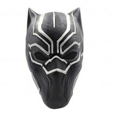 Masca casca latex Black Panther Marvel pantera neagra Cosplay Halloween +CADOU!