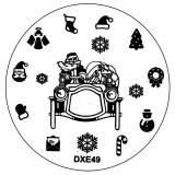Matrita Unghii Craciun DXE49