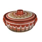 Cumpara ieftin Oala ceramica, lut, 1l, 0163127