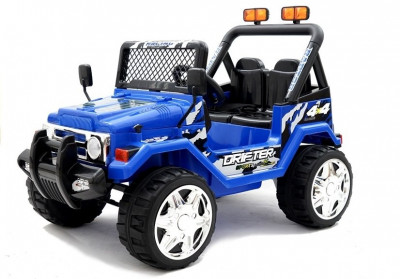 Masinuta electrica Jeep Raptor 2, albastru foto