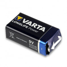 Baterie 9V , Ultra Alkalina - Varta
