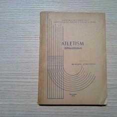 ATLETISM Tehnica Exercitiilor - D. Alexandrescu - 1970, 208 p.