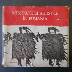 OLGA HORSIA - MESTESUGURI ARTISTICE IN ROMANIA (1971)