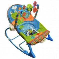 Balansoar si scaun, pentru bebelusi si copii, cu sunete si vibratii, 0-18 kg - 63532