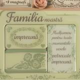 Rama foto magnetica, Familia noastra, Meli Melo