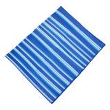 Rogojina pliabila pentru plaja, 150 x 180 cm, Albastru