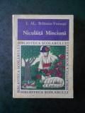 I. AL. BRATESCU VOINESTI - NICULAITA MINCIUNA
