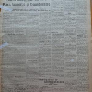 Ziarul Socialismul , Organul Partidului Socialist , nr. 44 / 1920