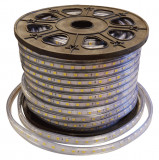Banda LED 220V 60LED 14.4W 2700K IP68 Tip LED 50M/Rola EL0025984