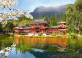 Puzzle Castorland - 1000 de piese - Replica of the Old Byodoin Temple