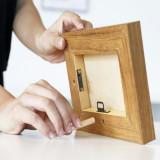 Cumpara ieftin Rama foto magnetica 13x18, cadru lemn, include hartie magnetica, Magic Dara, ProCart