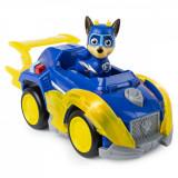 Figurina Chase Super Eroul cu masina de politie, Patrula Catelusilor