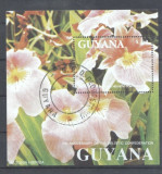Guyana 1991 Orchids perf sheet Mi.130 used L.115