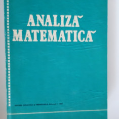 ANALIZA MATEMATICA - STANASILA