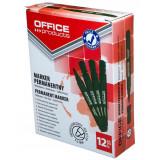 Cumpara ieftin Set 12 Markere Whiteboard Varf Rotund de 1-3 mm, Verde, Markere Tabla, Accesorii Tabla Scolara, Instrumente de Scris, Accesorii pentru Prezentare