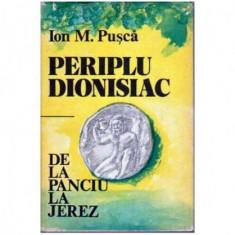 Periplu Dionisiac - De la Panciu la Jerez