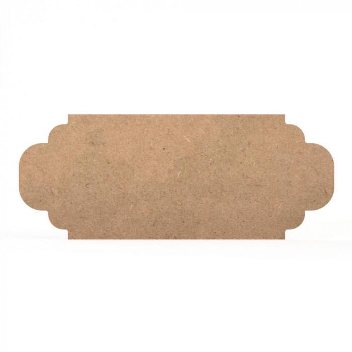 Tablita MDF - 40x16x0.4 cm - 010-L - Blank