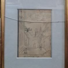 H. H. CATARGI - SCHITA PENTRU TABLOU