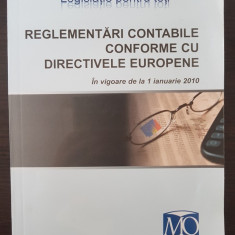 REGLEMENTARI CONTABILE CONFORME CU DIRECTIVELE EUROPENE 2010
