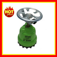 Butelie Voiaj Aragaz Camping Lampa + Rezerva gaz