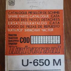 Catalogul pieselor de schimb Tractor Universal U 650 M UTB/ R7P5