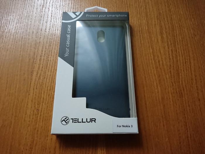 Husa plastic Nokia 3 Tellur Super Slim Bleumarin