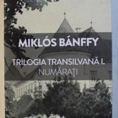 TRILOGIA TRANSILVANA , VOLUMUL I - PRIMUL CUVANT PE ZIDUL PALATULUI - NUMARATI de MIKLOS BANFFY , 2019