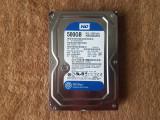 HDD WD Blue 500GB SATA (Desktop Hard Drive), 500-999 GB, 7200, SATA 3, Western Digital