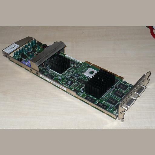 Placa video workstation 3Dlabs Wildcat III 6110 AGP 128MB