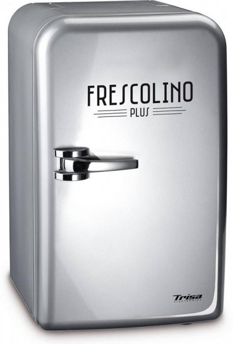 Mini frigider Trisa 7731.471 Frescolino Plus 17 litri Argintiu