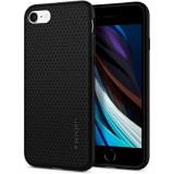 Cumpara ieftin Carcasa Spigen Liquid Air iPhone 7/8/SE (2020) Black