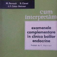 CUM INTERPRETAM EXAMENELE COMPLEMENTARE IN CLINICA BOLILOR ENDOCRINE - M. PERRAU