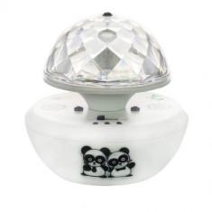 Proiector Led Magic Ball ME-10, RGB, 3W, USB