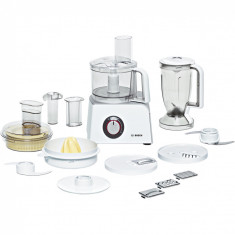 Robot de bucătărie compact Styline Bosch, 800W, Alb MCM4200