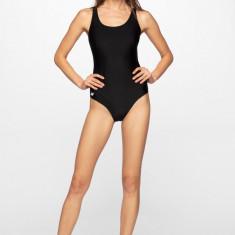Costum de baie întreg pentru femei 4FPro KOSP400 - negru intens