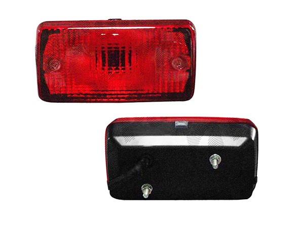 Lampa auto BestAutoVest pentru ceata rosie 12/24V cu bec P21W, 140x75mm , 1 buc. Kft Auto
