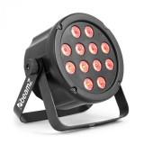 Cumpara ieftin Beamz SlimPar 35, reflector cu LED-uri Spotlight 12x 3W, LED-uri 3în1, RGB, DMX / Standalone, negru