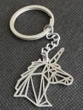 Breloc Unicorn model abstract fantastic povesti pentru basme accesorii cadou