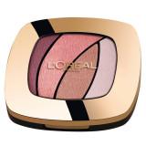 Cumpara ieftin Paleta farduri L Oreal Paris Color Riche Les Ombres, S10 Seductive Rose