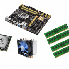 KIT Placa de baza (SHD) Asus Q87M-E + Intel® Core i5-4590S + 16GB DDR3 1600Mhz, Pentru INTEL, LGA 1150, DDR 3