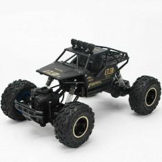 Masina jucarie Monster Truck Off-Road, 4WD 1/16 RC, cu telecomanda, negru