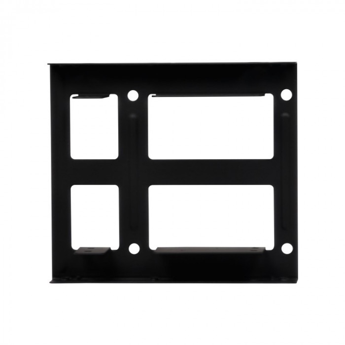 Adaptor Spacer SPR-25352, HDD/SSD 2.5 inch in bay-ul de 3.5 inch, Negru