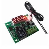 Termostat electronic digital universal 12V releu 20A cu sonda de temperatura NOU