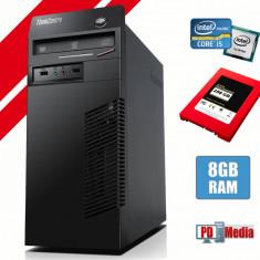Calculator Lenovo Intel Core i5-3340 3.30GHz 8GB DDR3 SSD 256 GB ThinkCentre M72