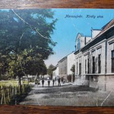 OCNA MURES - MAROSUJVAR - STR. KIRALY - INCEPUT DE 1900, Circulata, Fotografie