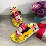 Cumpara ieftin Papuci galbeni de vara cu Minnie pentru copii fete 25 26