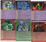 bnk jc Bakugan - lot 6 carduri