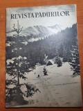 revista padurilor ianuarie 1962-ocolul silvic craiova,rezervatia simeria